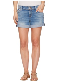 Hudson Jeans Croxley Mid Thigh Rolled Shorts in Rolling Hills