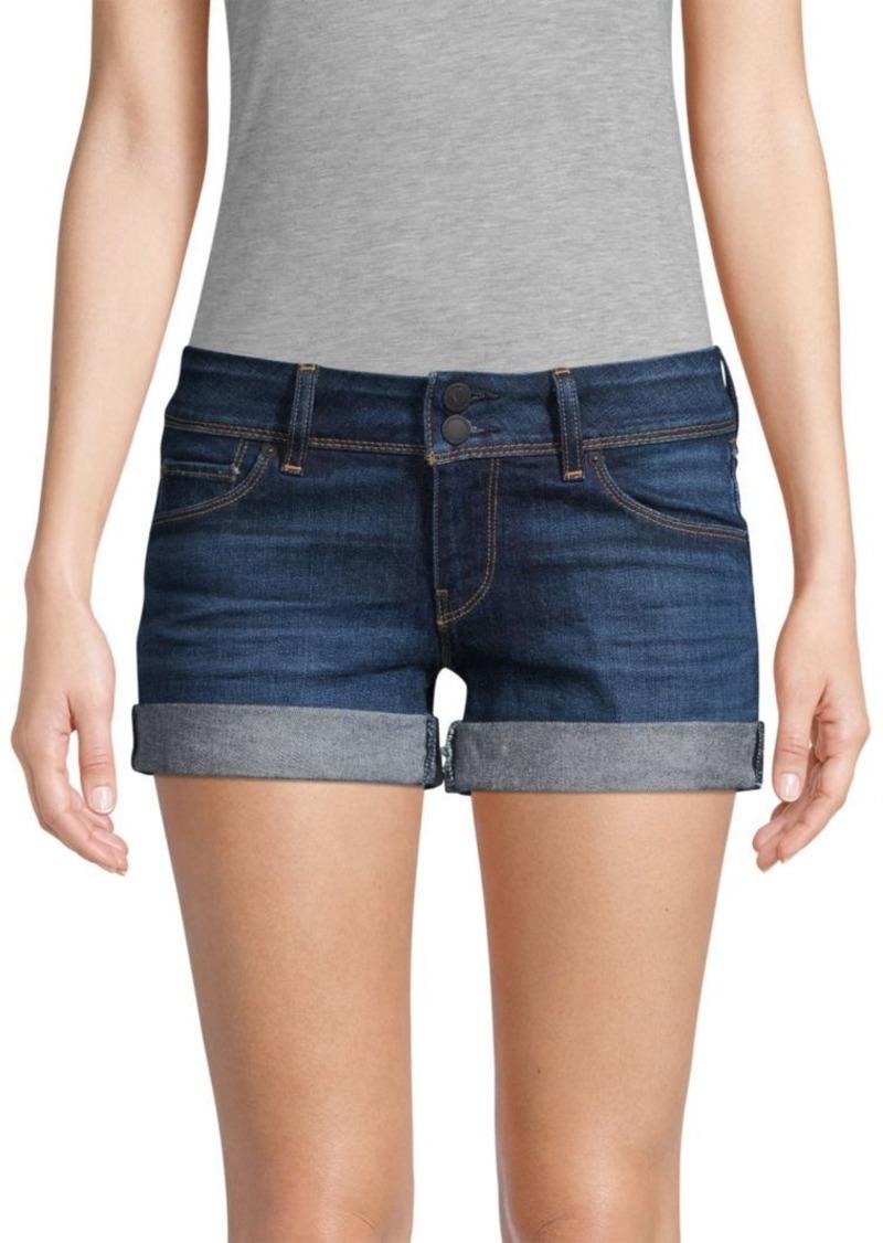 Hudson Jeans Croxley Rolled Denim Shorts