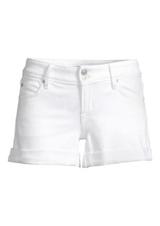Hudson Jeans Croxley Rolled Hem Denim Shorts