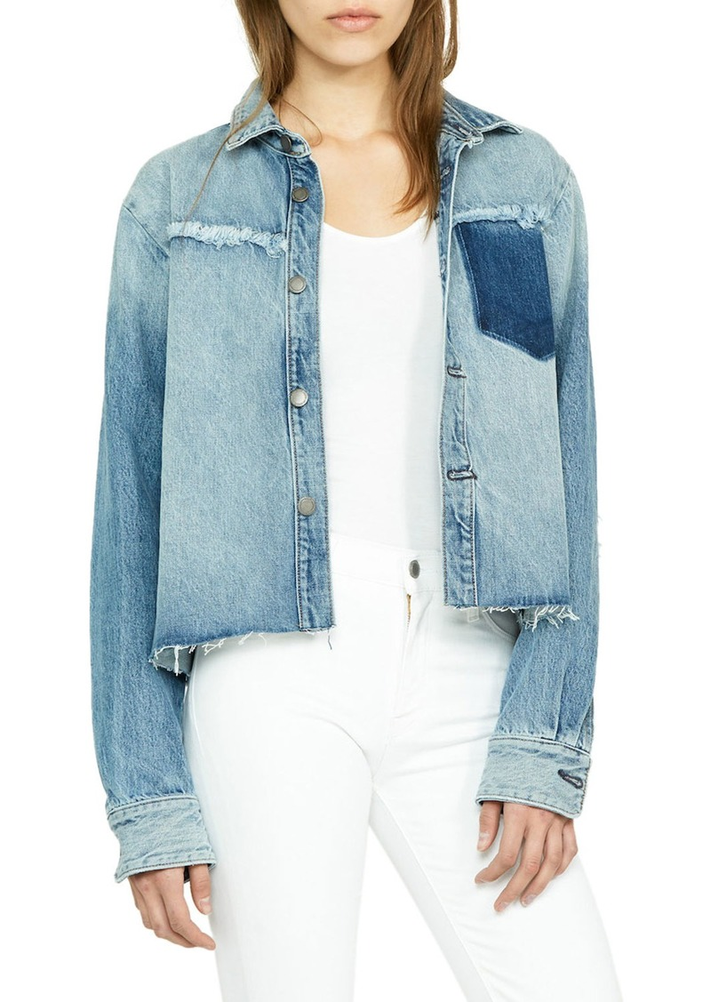Hudson Jeans Cutoff Denim Jacket