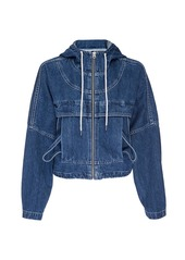 Hudson Jeans Denim Hooded Jacket