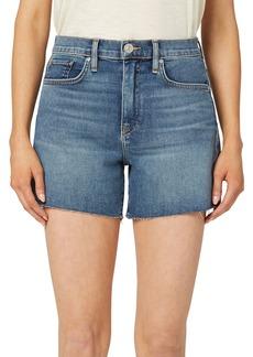 Hudson Jeans Devon High-Rise Relaxed Biker Shorts