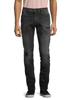 Hudson Jeans Distressed Skinny-Fit Jeans