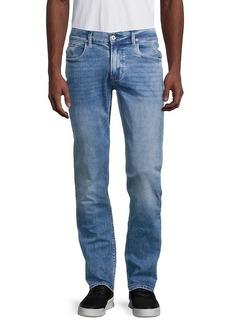 Hudson Jeans Distressed Slim-Fit Jeans