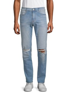 Hudson Jeans Distressed Slouchy Skinny Jeans