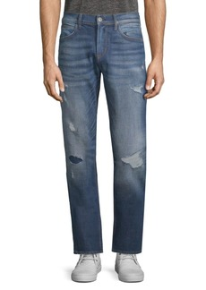 Hudson Jeans Distressed Straight Jeans