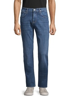 Hudson Jeans Dollision Slim-Fit Straight Jeans