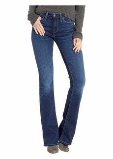 Hudson Jeans Drew Mid-Rise Bootcut Jeans in Baltic
