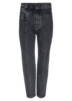Hudson Jeans Elly High-Rise Pin-Tuck Straight-Leg Jeans