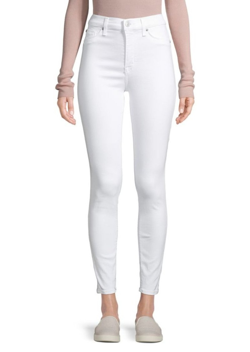 Hudson Jeans Five-Pocket Skinny Jeans