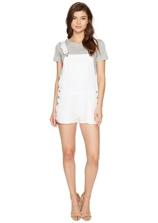 Hudson Jeans Florence Shortall in Destroyed White