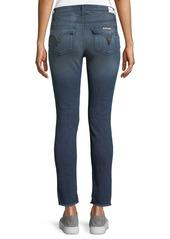 Hudson Jeans Fray-Hem Skinny Jeans