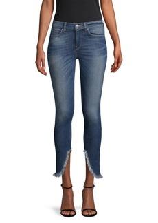 Hudson Jeans Fringe Ankle Jeans