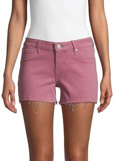 Hudson Jeans Frayed Hem Denim Shorts