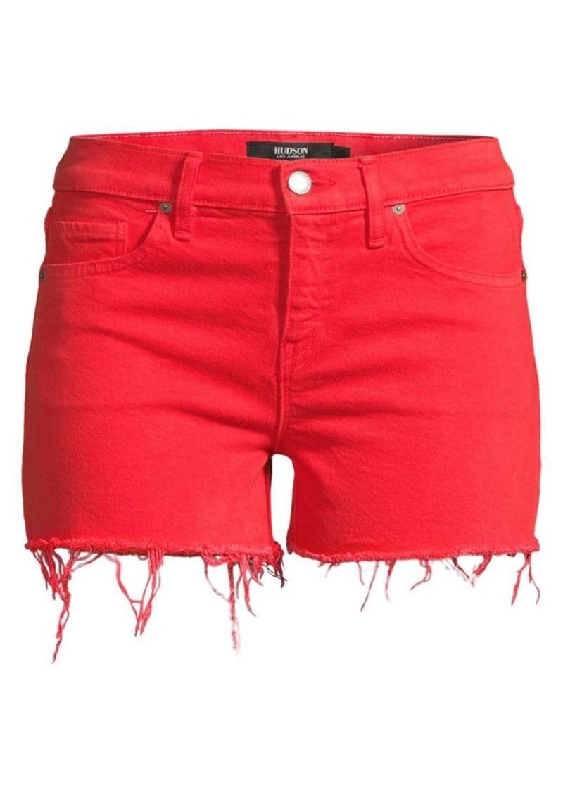 Hudson Jeans Gemma Cut-Off Denim Shorts