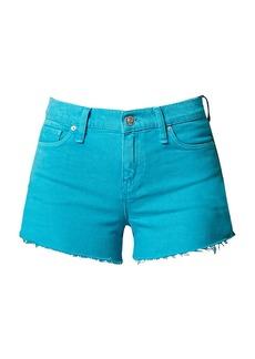 Hudson Jeans Gemma Mid-Rise Cut-Off Denim Shorts
