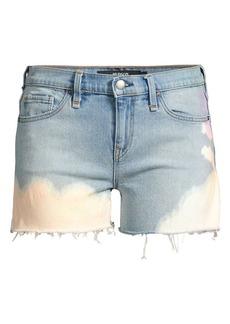 Hudson Jeans Gemma Mid-Rise Cut-Off Shorts