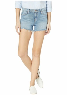 Hudson Jeans Gemma Mid-Rise Cut Off Shorts in Long View