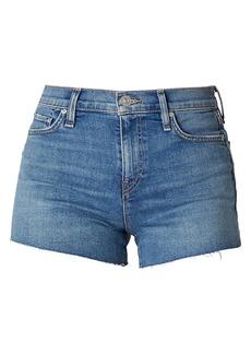 Hudson Jeans Gemma Mid-Rise Cutoff Jean Shorts