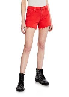 Hudson Jeans Gemma Mid-Rise Cutoff Shorts