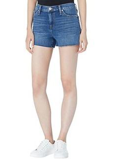 Hudson Jeans Gemma Mid-Rise Cutoffs Shorts in Moon Hour