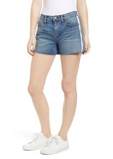Hudson Jeans Gemma Midrise Cutoff Zipper Shorts