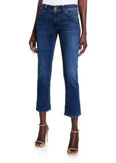 Hudson Jeans Ginny Cropped Boot-Cut Jeans