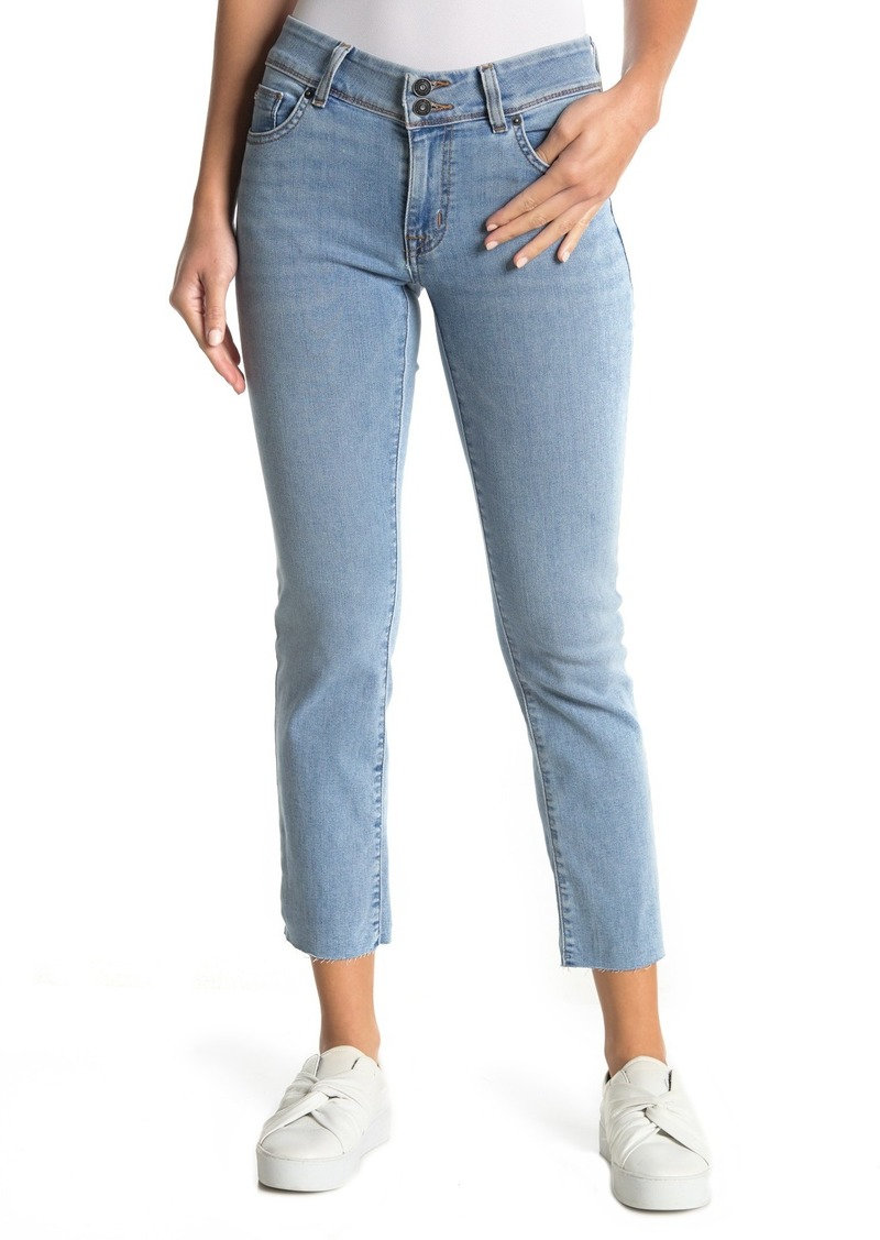 Hudson Jeans Ginny Cropped Straight Leg Jeans