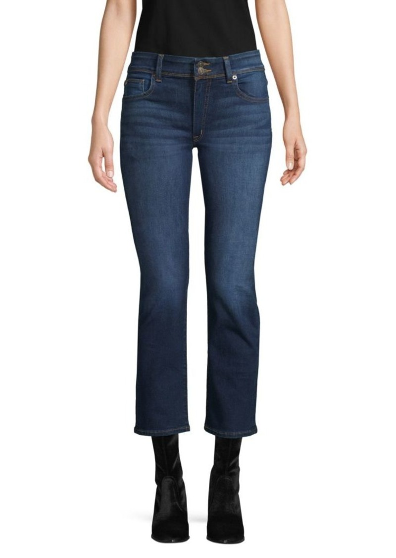 Hudson Jeans Ginny Straight Crop Jeans