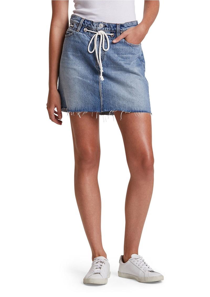 Hudson Jeans Grommet Detail Skirt