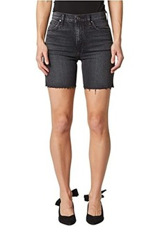 Hudson Jeans Hana Mini Biker Shorts in Tainted Love
