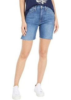 Hudson Jeans Hana Mini Biker Shorts in Underpass