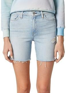 Hudson Jeans Hana Mini Denim Biker Shorts