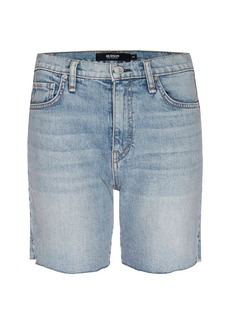 Hudson Jeans Hana Mini Denim Biker Shorts