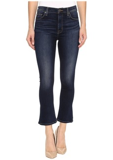 Hudson Jeans Harper High-Rise Crop Baby Kick Flare in Corps