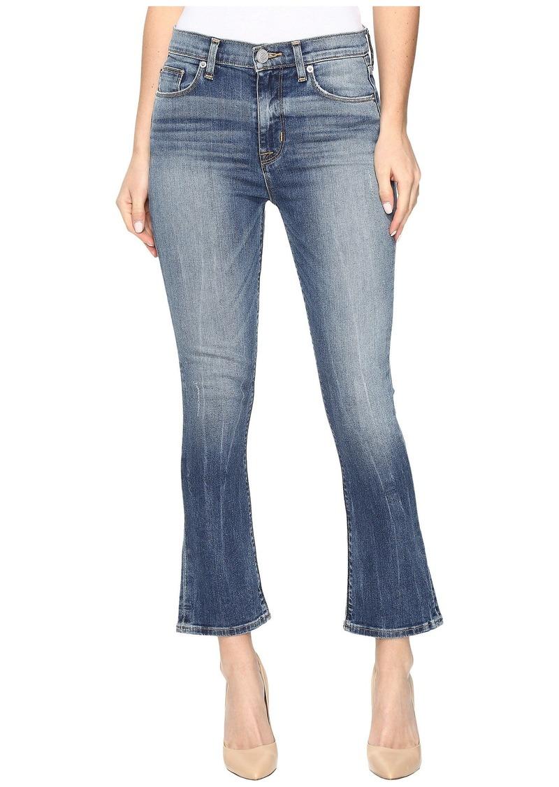 Hudson Jeans Harper High-Rise Crop Baby Kick Flare in Lifeline