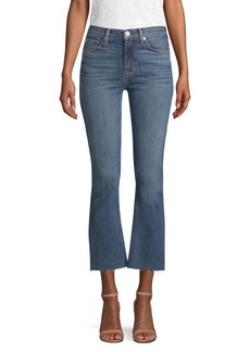 Hudson Jeans High Rise Crop Flare Jeans