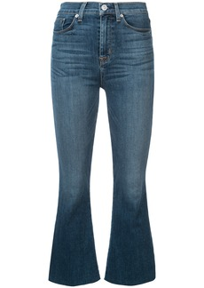 Hudson Jeans high rise flared jeans