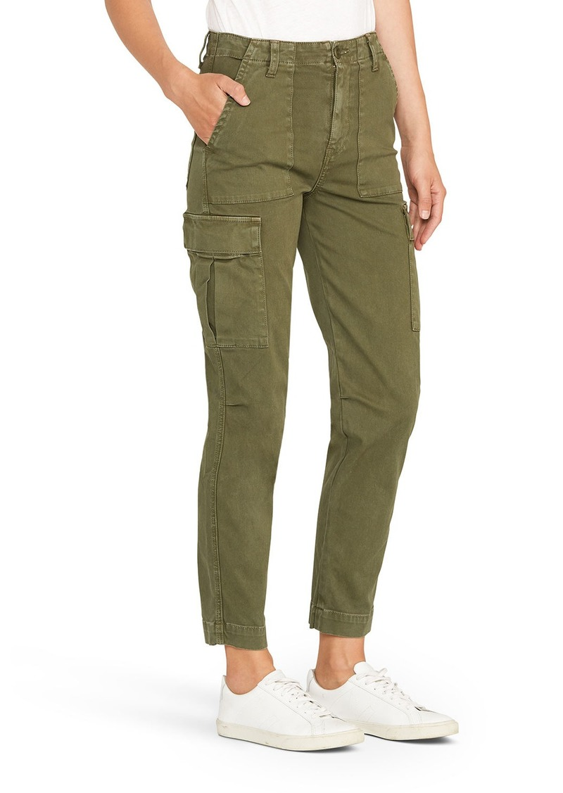 Hudson Jeans High-Rise Straight-Leg Cargo Pants