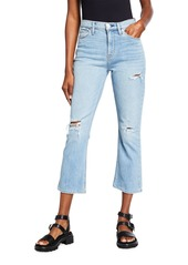Hudson Jeans Holly Cropped Boot-Cut Jeans