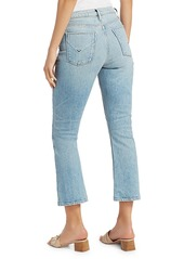 Hudson Jeans Holly High-Rise Crop Bootcut Jeans