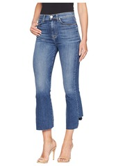 Hudson Jeans Holly High-Rise Crop Flare in Loss Control