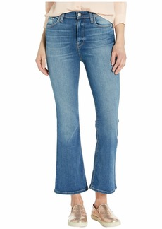 Hudson Jeans Holly High-Rise Crop Flare in Strike