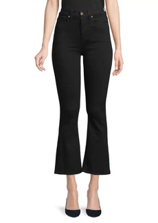 Hudson Jeans Holly High-Rise Cropped Flare Jeans
