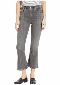 Hudson Jeans Holly High-Rise Crop Flare with Back Slit At Ankle in Spectacle
