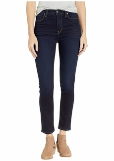 Hudson Jeans Holly High-Rise Crop Skinny in Cosmo