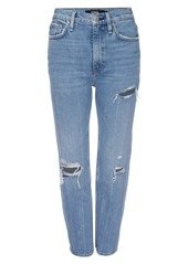 Hudson Jeans Holly High-Rise Cropped Bootcut Jeans