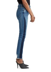 Hudson Jeans Holly High-Rise Cropped Jeans with Side Patches