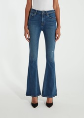 Hudson Jeans Holly High Rise Five Pocket Flare Jeans