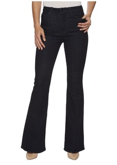 Hudson Jeans Holly High-Rise Five-Pocket Flare Jeans in Infuse